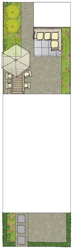 Kleine stadstuin met eettafel en loungebank. Vuurschaal erbij en genieten maar! Tuinontwerp stadse relaxtuin. Wil je weten wat deze tuin kost? Wij hebben alles al voor je uitgezocht. Mail info@takemeoutside.nl. Meer superleuke tuinontwerpen zien? Kijk snel op www.takemeoutside.nl.