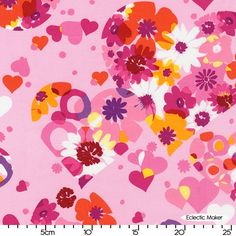 SEI Valentine Love Bouquet in Sorbet SEI Valentine Love Bouquet in Sorbet Robert Kaufman Fabrics for patchwork quilting and dressmaking from Eclectic Maker [ASW-12996-182 SOR] : Patchwork, quilting and dressmaking fabric, patterns, habberdashery and notions from Eclectic Maker