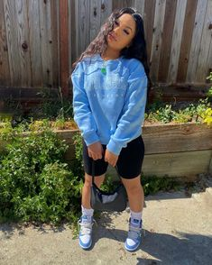 Cute Lazy Outfits, Cute Swag Outfits, Girl Outfits, Fashion Outfits, Fashion Killa, Types Of Fashion Styles, Makeup Inspiration, Baddies, Patience