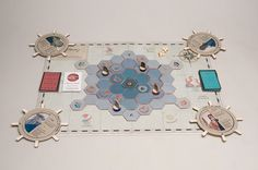 Apnea - Boardgame on Behance