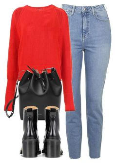 Untitled #6071 by laurenmboot on Polyvore featuring polyvore, fashion, style, Givenchy, Topshop, rag & bone and clothing
