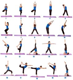 Get The Printable Chart Of Popular 26 Bikram Yoga Poses And Maximum Benefits Pose Bikramyogaposessorg Bik