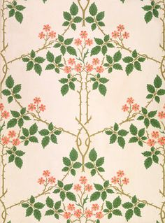William Morris  Blackberry, wallpaper