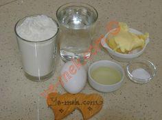 Tavada Mayasız Katmer İçin Gerekli Malzemeler Pogaca Recipe, Bread Baking, Glass Of Milk, Food And Drink, Breakfast, Desserts, Recipes, Amigurumi, Baking