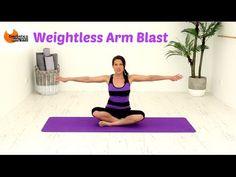 FREE Ballet Barre Arms Workout - BARLATES Weightless Arm Blast with Linda Wooldridge - YouTube