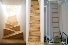 Super cool, very crazy stairs!