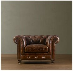 Gentlemans club chair Introducing Man Cave Monday: Leather Chairs | Nashville Luxury Team #LeatherChair