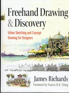 Urban Sketchers: Our Own James RIchards' new book!