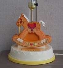 Vintage Fisher Price Rocking Horse Lamp Found on Ruby Lane