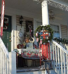Winter-Christmas on the Porch Decor