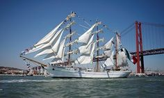 The Tall Ships race 2016, an international event brings tall ships together for friendly competition