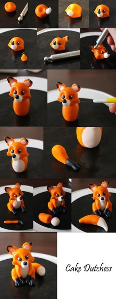 Polymer Clay Fox Tutorial - DIY step by stepYou can find Clay tutorials and more on our website.Polymer Clay Fox Tutorial - DIY step by step
