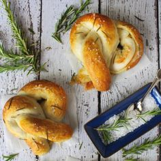 Doughy soft pretzels stuffed with BRIE cheese and topped with sea salt and rosemary. Soft pretzels just got even better!