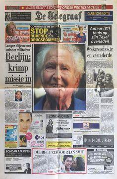 Telegraaf 20 oktober 2007