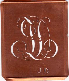 Vintage Copper Stencil, from Alpenhimmel on Etsy
