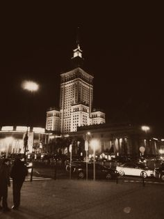 Warsaw - Palace of science and culture
