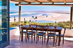 The Beach Hut - Paternoster (West Coast). Enjoyed a lovely holiday here with my children. Sea Dream, Dutch House, Dream Beach Houses, Log Cabin Homes, Coastal Homes, Weekend Getaways, Vacation Spots, West Coast, South Africa