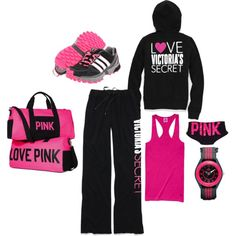 VS Pink Beauty, created by zionsmama on Polyvore