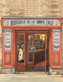 La Bodeguilla de Santa Cruz. #Zaragoza #bodega #tapas