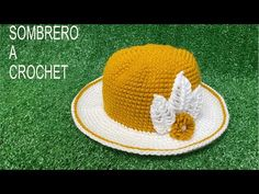 COMO TEJER SOMBRERO A CROCHET 🧶👒 - YouTube Sombrero A Crochet, Lana, Crochet Hats, Youtube, Fashion, How To Knit, Tejidos, Knitting Hats, Moda