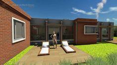 Planos de Casas - Proyecto de Arquitectura: Luna de Agosto