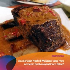 Enaknya menyantap konro bakar khas Makassar, apalagi kalau rame-rame bareng personil Noah. Vote yuk untuk Makassar di bebasxpresi.com! #BebasXpresi