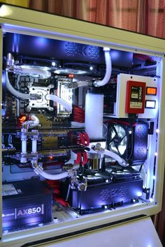 Nice water cooled rig!