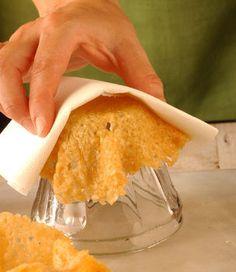 cestini di parmigiano