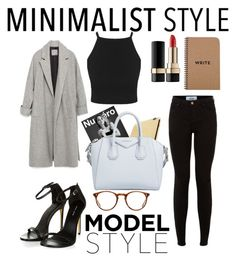 """""""Untitled #6"""" by saniyags on Polyvore featuring Zara, Karl Lagerfeld, Goldgenie, Givenchy, Oliver Peoples and Dolce&Gabbana"""