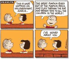Linus Van Pelt and Marcie Charlie Brown Halloween, Peanuts Halloween, Halloween Cartoons, Charlie Brown And Snoopy, Halloween Night, Peanuts Cartoon, Peanuts Snoopy, Peanuts Comics, Snoopy Cartoon