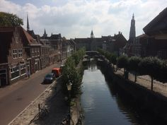 Uitzicht vanaf de Koppelpoort, Amersfoort, Nederland