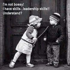 Leadership skills...got it?!