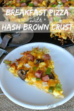 Six Little Chefs: Breakfast Pizza with Hash Brown Crust