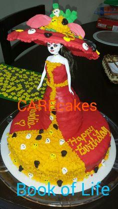 La Muerte. Book of Life. Libro de Vida. Cake party