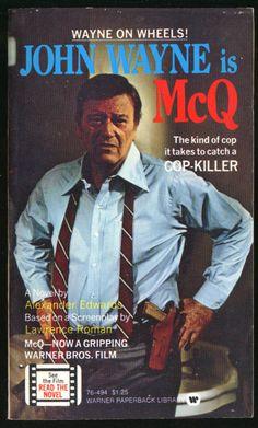 John Wayne McQ  1974  his first detective role