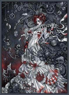 Emilie Autumn - magic violin by =Candra