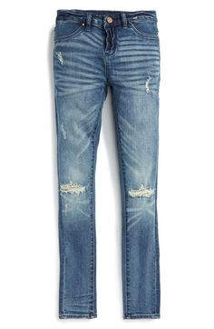 BLANKNYC Distressed Skinny Jeans (Big Girls) available at #Nordstrom
