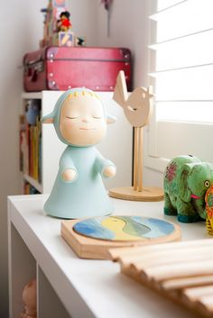 Modern vintage baby's room via WeeBirdy.com