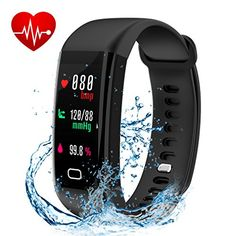 Fitness Tracker, Smart Watch with Color Screen, Activity Tracker With Heart Rate Monitor, Calories track, Sleep Monitor, IP68 Waterproof Smart Bracelet Pedometer Wristband for Android and IOS #Fitness #Tracker, #Smart #Watch #with #Color #Screen, #Activity #Tracker #With #Heart #Rate #Monitor, #Calories #track, #Sleep #Waterproof #Bracelet #Pedometer #Wristband #Android