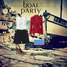 Designer Clothes, Shoes & Bags for Women Party Ideas, Boat, My Style, Polyvore, Shopping, Collection, Design, Women, Dinghy