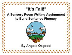 Students Draft A Poem On Fall Using Experiences From Their  Senses To Learn Strategies To