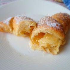 Lemon Curd Croissants
