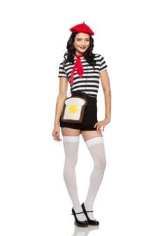 httpsimageshalloweencostumescomproducts419651 2french toast womens costumejpg