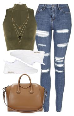 """"""""""" by welove1 ❤ liked on Polyvore featuring Topshop, WearAll, Maison Margiela, NIKE, Givenchy, women's clothing, women, female, woman and misses"""