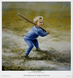 Donald Zolan - Little Slugger (736×789)