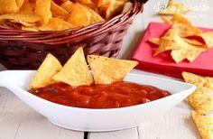 La Salsa piccante Tex mex è perfetta da accompagnare ai nachos per l'aperitivo.Una patatina tira l'altra ed è impossibile resistere.