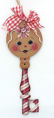 HP GINGERBREAD ORNAMENT  ginger key