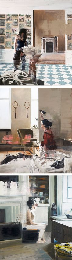Paintings by Andy Denzler
