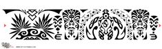 polynesian designs and patterns | Maori Samoan Armband Tattoojpg