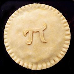 This is awesome. Even though I don't like pie I'd still take a bite of this pi pie!